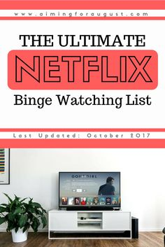 Need something to watch? Well here is a comprehensive list of several note-worthy Netflix shows to binge-watch! #netflix #streamteam #bingewatch #televisionshows