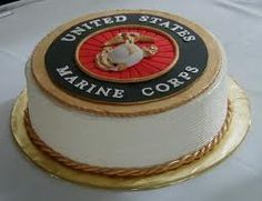 Happy Birthday to the United States Marine Corps! God Bless them. Marine Corps Cake, Marine Corps Wedding, Marine Corps Emblem, Marine Corps Birthday, Military Cake, Military Party, Military Mom, Military Wedding, Military Gifts