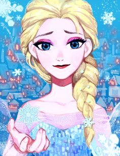 elsa by fpswp on DeviantArt #frozen #disney #fanart