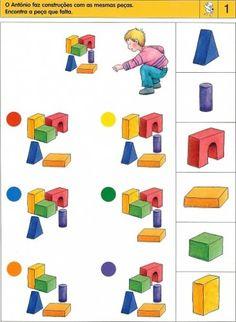 Kindergarten Learning, Preschool Learning, Kindergarten Worksheets, Brain Activities, Classroom Activities, Preschool Activities, Visual Perception Activities, Sequencing Cards, File Folder Activities