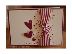 Simple Wedding, Anniversary or Valentine's Day card