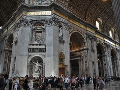 Gaze in wonder at the enormity of St. Peter's Cathedral in Vatican City.