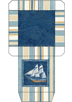 Sailboat gift box