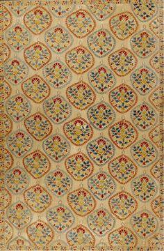 Antique ottoman silk embroidery quilt cover yorgan yuzu for Tejido persa