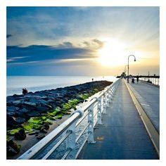 Petite promenade en fin d'après-mide près de la mer à Melbourne __ http://wee-go.com/sejour-linguistique/melbourne