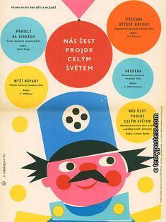 Vodáková_Sylvie_1961_vintage_poster