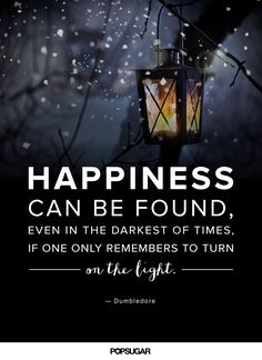 Pin for Later: 29 Dumbledore Quotes That Will Inspire You to Do Magical Things…