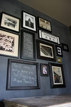 Chalkboard - Home Decor Ideas