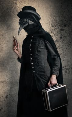 Plague doctor by Eugenia Berg photography