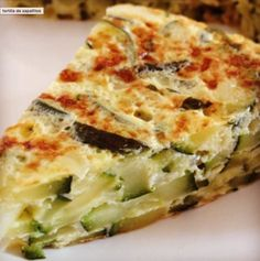 Receta para hacer Tortilla de Zapallitos | RecetasArgentinas.net