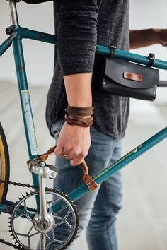 Bicycle handlebar bicycle leather frame handle carry handle bike & Etsy The post Bicycle Handle Bicycle Leather Handle Frame Handle Carrying Handle Bicycle lifter appeared first on Trendy. Mountain Bike Accessories, Cool Bike Accessories, Leather Accessories, Bici Retro, Velo Retro, Course Vintage, Velo Cargo, Bike Leathers, Leather Bicycle
