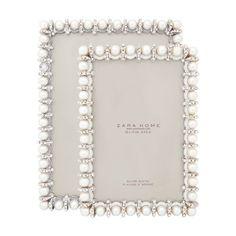 Zara home. Pearl frame.