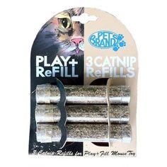 Refil Catnip Play + Fill Pet Brands - Duki