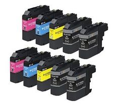 Find best price for E-z Ink Compatible Ink Cartridge Replacement for Brother High Yield Black, 2 Cyan, 2 Magenta, 2 Yellow) 10 Pack Printer Ink Cartridges, Inkjet Printer, Best Deals Online, Magenta, Packing, Stuff To Buy, Ebay, Shopping, Black