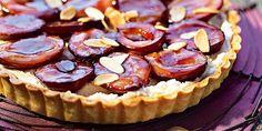 Tarte aux prunes et mascarpone Tiramisu Fruits, Cheesecake, Pie, Breakfast, Recipes, Food, Petits Desserts, Muffins, Tartelette