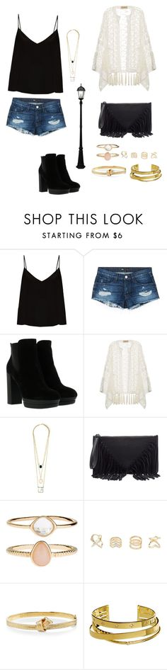 """""""Boho chic"""" by hannahhocom ❤ liked on Polyvore featuring Raey, 3x1, Hogan, ADRIANA DEGREAS, Sole Society, Accessorize, Charlotte Russe, Carelle, Elizabeth and James and Gama Sonic"""