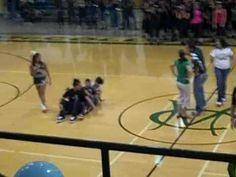 Caleb and Lance participate in homecoming games at the pep rally. Basketball Cheers, Girls Basketball, Girls Softball, Volleyball Players, Volleyball Drills, Volleyball Quotes, Pep Rally Games, Team Games, Fun Games