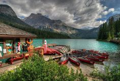 Emerald Lake, Canada  Beautiful place!  I've been here
