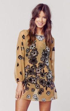 For love and lemons sierra mini dress on ShopStyle