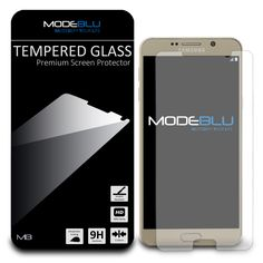 ModeBlu Tempered Glass Galaxy Note 5 HD Screen Protector for Samsung Galaxy Note 5