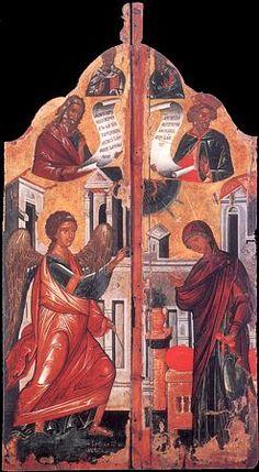 БЛАГОВЕЩЕНИЕ ПРЕСВЯТОЙ БОГОРОДИЦЫ Orthodox Catholic, Eritrean, Orthodox Icons, Illuminated Manuscript, Heaven On Earth, Byzantine, Oriental, Mosaic, Christian