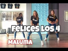 Sport And Danse Vidéos : Felices - Maluma - Easy Fitness Dance Choreography - Baile - Coreografia - Virtual Fitness Dance Music Videos, Easy Fitness, Jason Derulo, Dance Choreography, Burn Belly Fat, Ballroom Dance, Easy Workouts, Weight Loss Program, Samba