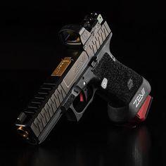 Airsoft Guns, Weapons Guns, Guns And Ammo, Custom Glock 19, Custom Guns, Handgun, Firearms, Glock Mods, Tactical Accessories