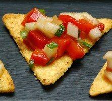 Tortillas sauce salsa, recette des Tortillas sauce salsa - Recette de tapas