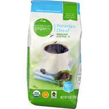 Simple Truth Organic Peruvian Decaf Ground Coffee Medium Roast 11 oz
