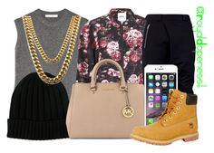 """""""Charged Up!"""" by royaldopeness ❤ liked on Polyvore featuring mode, Alexander Wang, ONLY, UNCONDITIONAL, Dolce&Gabbana, MICHAEL Michael Kors, Timberland, cute, newlook en royal_dopeness"""