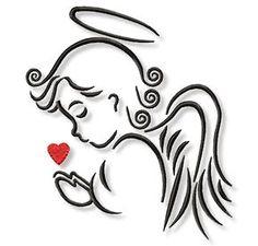 Jesus Drawings, Pencil Art Drawings, Easy Drawings, Art Sketches, Baby Angel Tattoo, Angel Artwork, Cut Out Art, Angel Drawing, Wood Burning Patterns