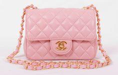 Купить розовую сумку шанель