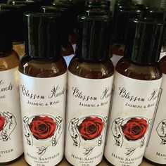 A full hand sanitizer and surface spray restock is now live on my website. This restock includes all of your favorites including Jasmine Rose, Sacred Hands, Joyful Hands, and many more. There are a dozen different blends entirely restocked. They will only be available while supplies last and this will be my final full restock for awhile, so if you missed the last restock or want to stock up on your faves, now is the time. I will not be releasing hand sanitizer again until autumn except for… Jasmine Rose, Hand Sanitizer, Joyful, Red Wine, Alcoholic Drinks, Surface, Hands, Autumn, Website
