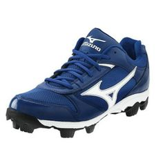 SALE - Mens Mizuno Franchise Baseball Cleats Blue - BUY Now ONLY $44.99