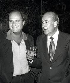 Rob Reiner and his dad Carl