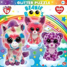 6a1a0018910 TY Beanie Boo Glitter Dream Club Puzzle 100 Piece Kids Puzzle