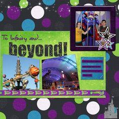 Disney Buzz Llightyear {pinned by www.thedisneykids.com} #DisneyScrapbooking #DisneyScrapbook
