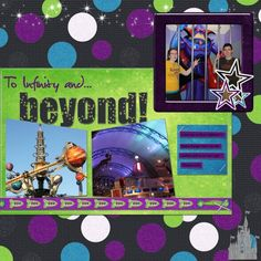 Disney Buzz Llightyear {pinned by www.thedisneykids.com} #DisneyScrapbooking #DisneyScrapbook