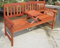 Gartenbank Mit Tisch Aus Holz