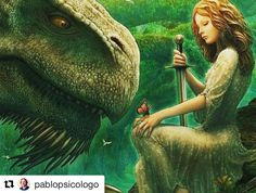Así desde el AMOR  #estoyenello #felizsanjordi #Repost @pablopsicologo with @repostapp  Prefiero las princesas que matan sus propios dragones.  Feliz Sant Jordi! #santjordi   via Instagram http://ift.tt/2p96v7J