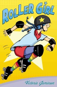 J GRA JAM. A graphic novel adventure about a girl who discovers roller derby right as she and her best friend are growing apart.