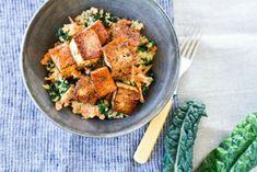 Crispy Baked Tofu With Shredded Veggie Quinoa [Vegan, Gluten-Free]   One Green Planet