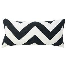 Zigzag Boudoir Pillow