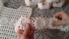 """Пуловер """"Цветочный"""". Часть 2/Pullover Crochet"""