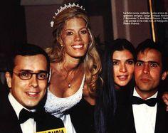 J. Enrique, Ana Maria Orozco y Pedro Franco en el casamiento de Lorna Cepeda
