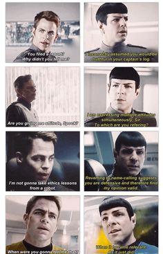I love Spock! (Isn't sass an emotional response?)