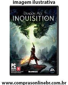 http://www.comprasonlinebr.com.br/jogo-dragon-age-inquisition-para-pc/ Jogo Dragon Age Inquisition para PC  história e repleto de personagens complexos, combates desafiadores e decisões difíceis. Jogue da sua maneira