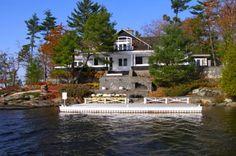 Old Woman Island, Lake Muskoka. Main building.