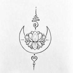 Circle Tattoos, Mini Tattoos, Flower Tattoos, Small Tattoos, New Tattoos, Doodle Tattoo, Mandala Tattoo, Spine Tattoos For Women, Unalome Tattoo