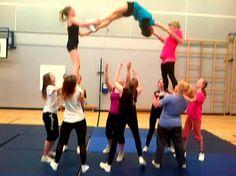 #stunting #cheerleading #ecdacheerleading Cheer Stunts, Cheerleading, Life, Ideas, Thoughts, Cheer